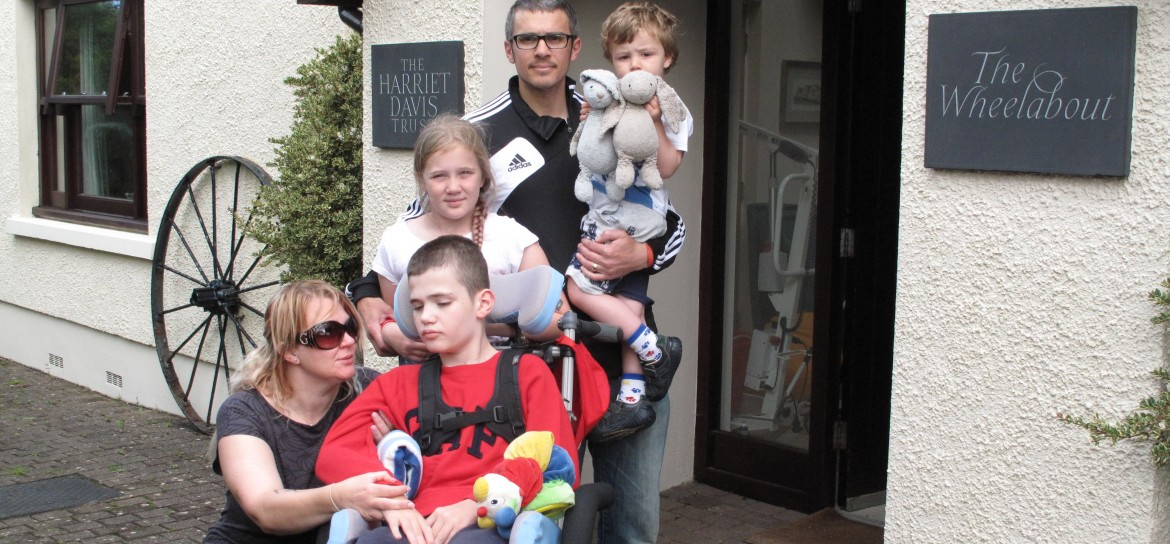 The grants programme helps families with a disabled member to have a UK holiday.