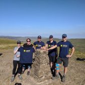 Berry & Lambert climb new heights – raising over £900